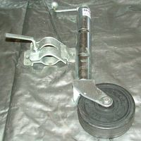 Jockey Wheel - 6 inch with clamp