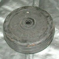 Wheel - 6 inch Solid Rubber